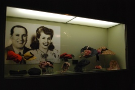 Evita 'Duarte' Perón & her husband president Juan Domingo Perón