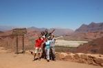 With Damien, Laura, Wancy, Virginie & Pauline @ Quebrada del Rio de las Conchas