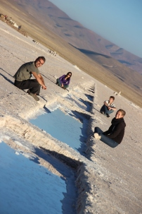 With Tenna, Jakob & Wancy @ Salinas Grandes