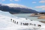 Walkin' on ice @ Perito Moreno glacier !